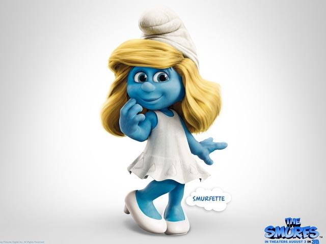 配图: 蓝精灵的妈妈到哪去了? 蓝妈妈, 蓝精灵, 3d 蓝精灵, The Smurfs