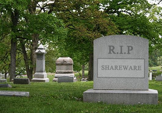 共享软件,一个时代的终结