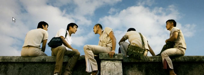 图片:  电影《艋舺》里的最后一个镜头