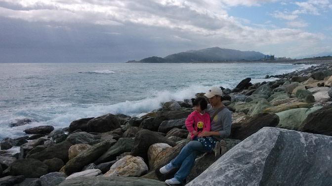 图片: 台湾花莲看海