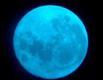 Blue moon 蓝月亮